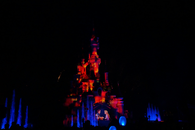 castle night