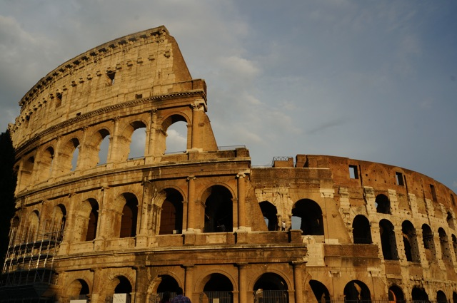 Visit the Colosseum in Rome.