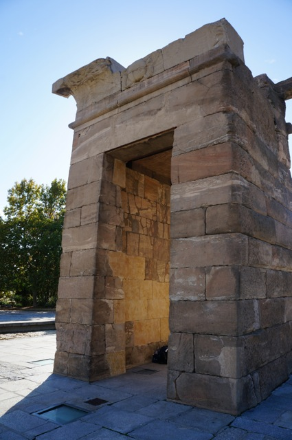 Something In Her Ramblings travel blog discovers an Ancient Egyptian temple in Madrid.