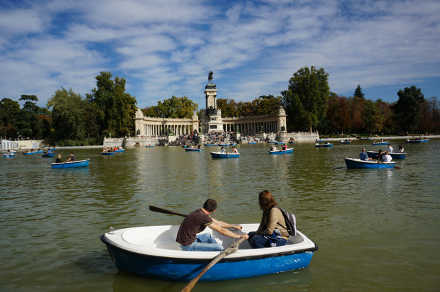 What to see in Madrid- Parque de Buen Retiro