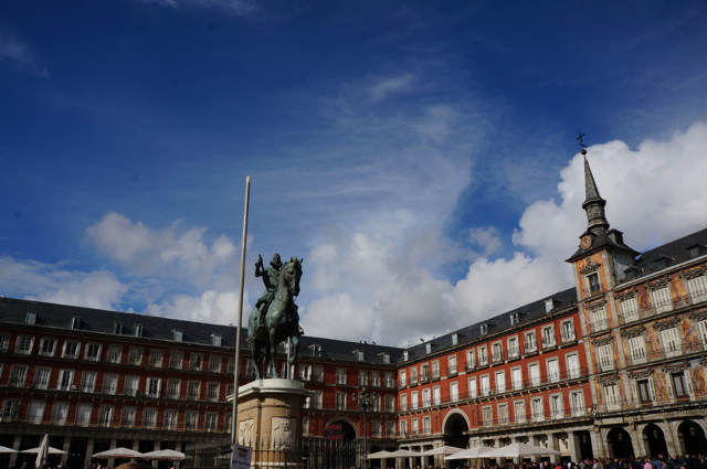 What to see in Madrid -plaza mayor