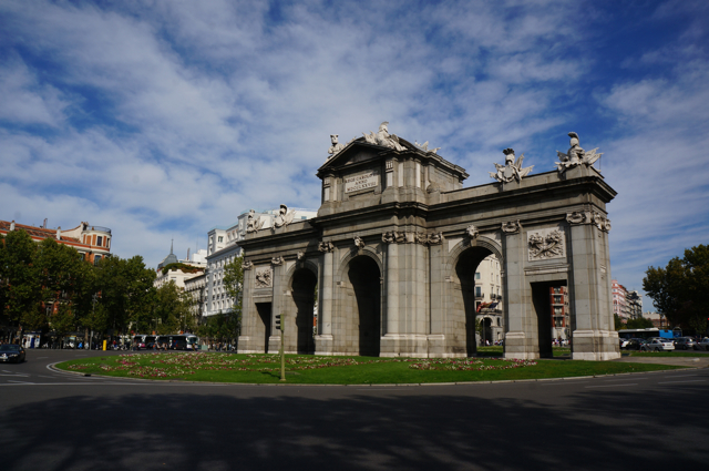 What to see in Madrid - Puerta de Alcala