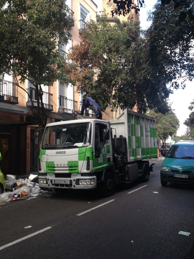 Madrid sanitation strike update.