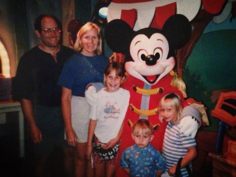 Something in Her Ramblings, a Madrid travel blog, goes back to Disneyland Paris.