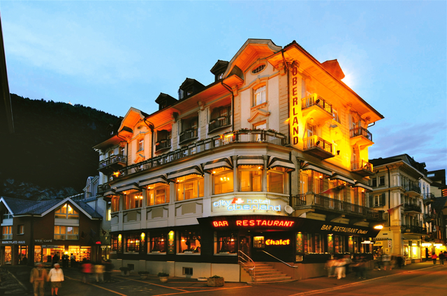 Accommodations in Interlaken, Switzerland: City Hotel Oberland