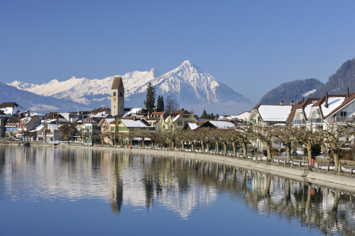 Interlaken, Switzerland is the gateway to the Swiss outdoors.