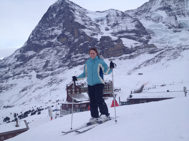 Travel blog Something In Her Ramblings achieves a bucket list item: ski the Swiss Alps in Interlaken, Switzerland.