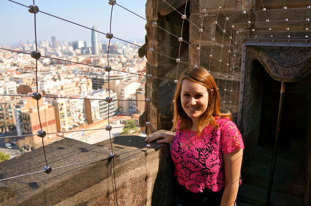 Travel blogger Lauren Salisbury of Something In Her Ramblings discovers Gaudí's Barcelona
