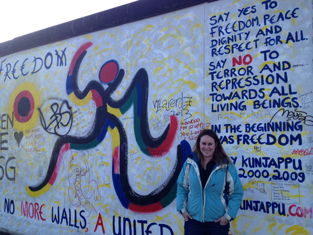 Lauren Salisbury wonders where to visit the berlin wall.