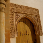 The Alhambra is full of ornate doors.