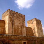 "The Alhambra is nicknamed ""the red castle"" because of its red stones."