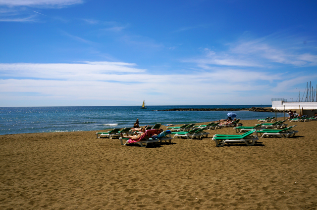 One of the top 10 things to see on an Andalucía Road Trip is Marbella's beaches.