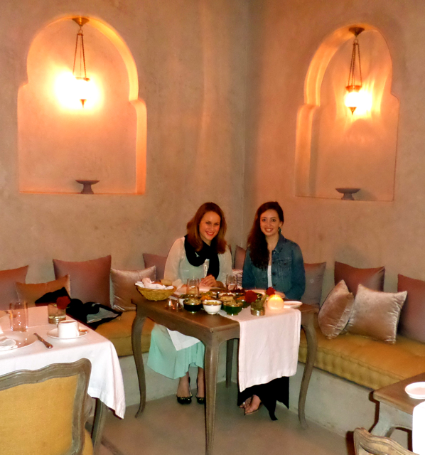 Riad Joya in Marrakech offers Marrakech fine dinning