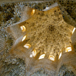 In Islamic architecture, roofs are often highly detailed.