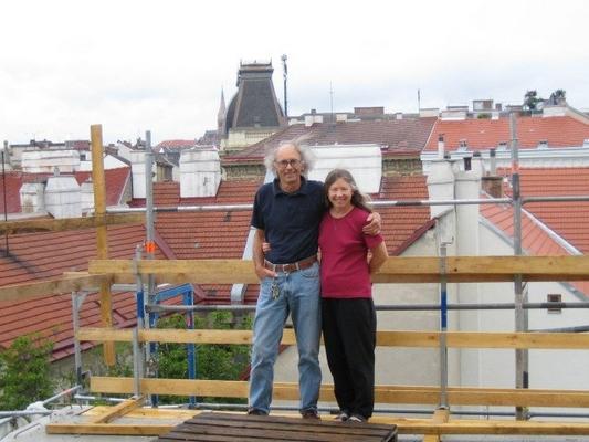 Erin und Walter Hostel Ruthensteiner