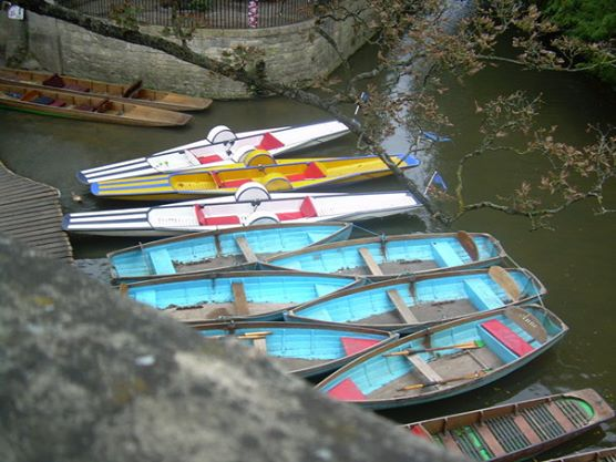 Punts. Top 10 Things to Do in Oxford, England.