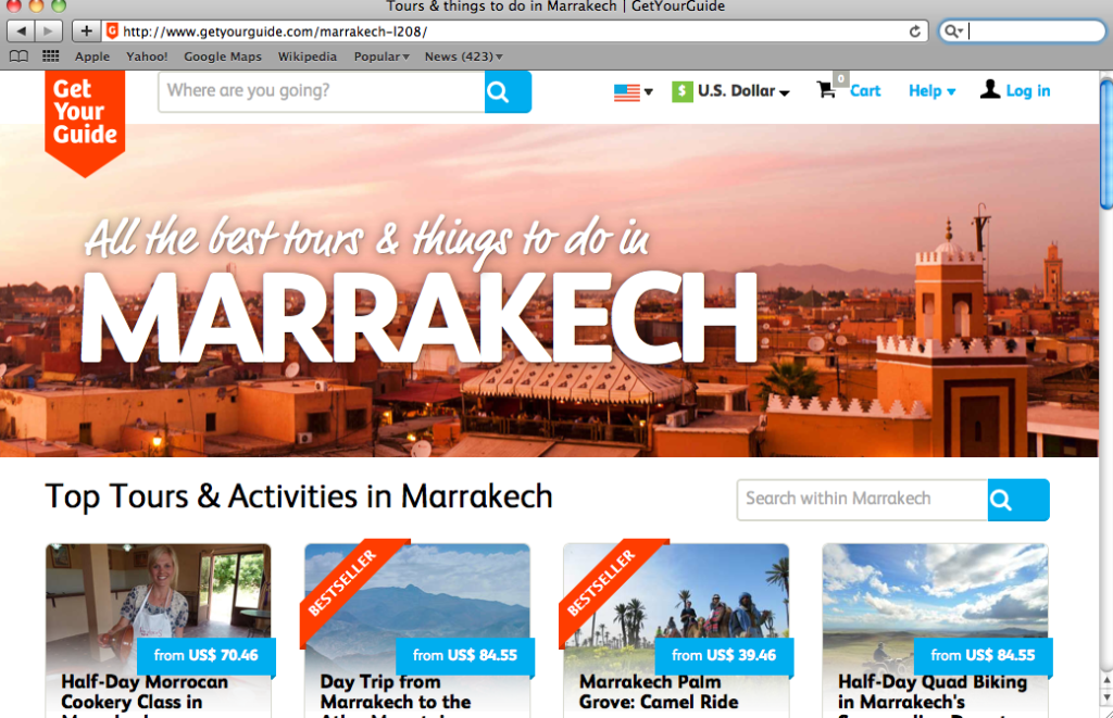 Find the perfect guided tour in Marrakech, Morocco with GetYourGuide.