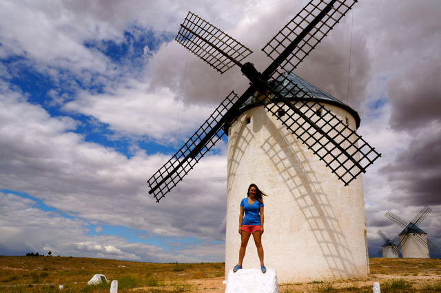See the Windmills of La Mancha in Campo de Criptana.