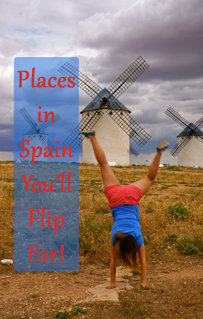 The Windmills of La Mancha Spain are a place you'll flip for!