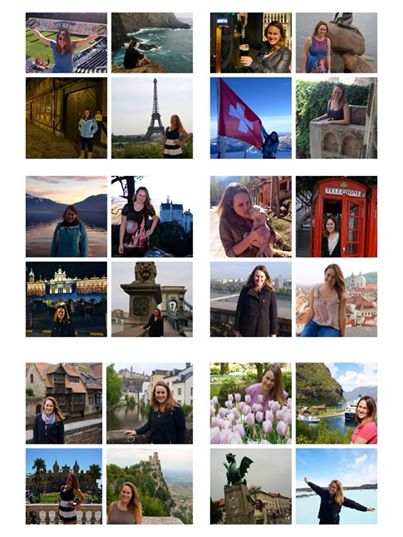 Lauren Salisbury of Something in Her Ramblings visit 25 Countries in One Year