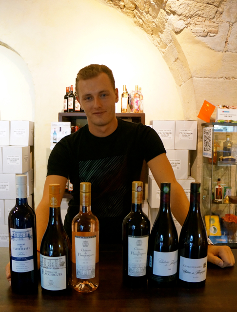 Wine Tasting in France at Château de Flaugergues