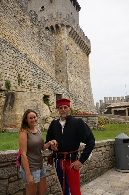 visit san marino and see medieval man