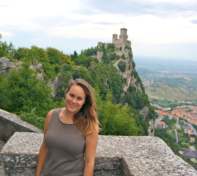 Travel blogger Lauren Salisbury on a visit to San Marino
