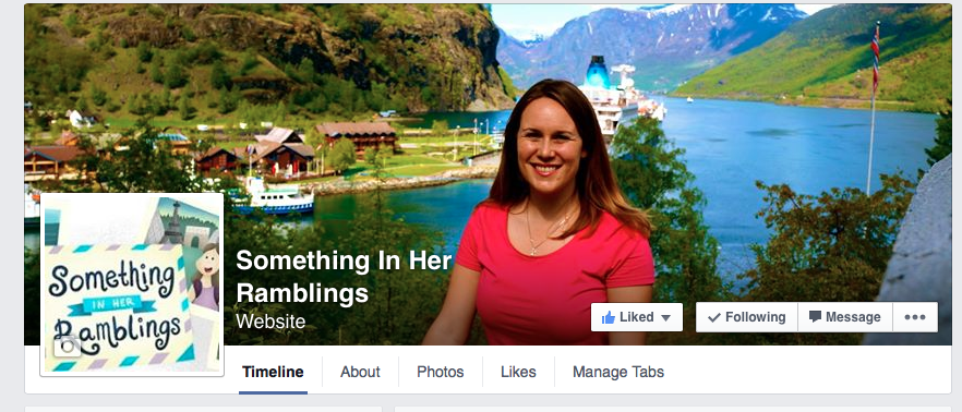 Like Something In Her Ramblings Travel Blog on Facebook