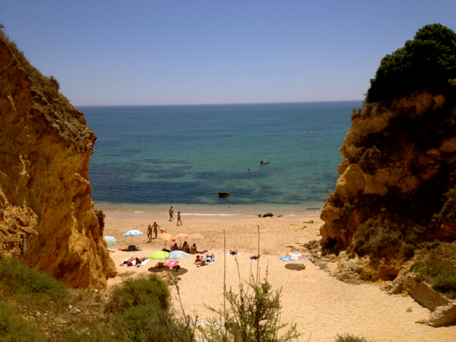 Lagos Portugal cliffs
