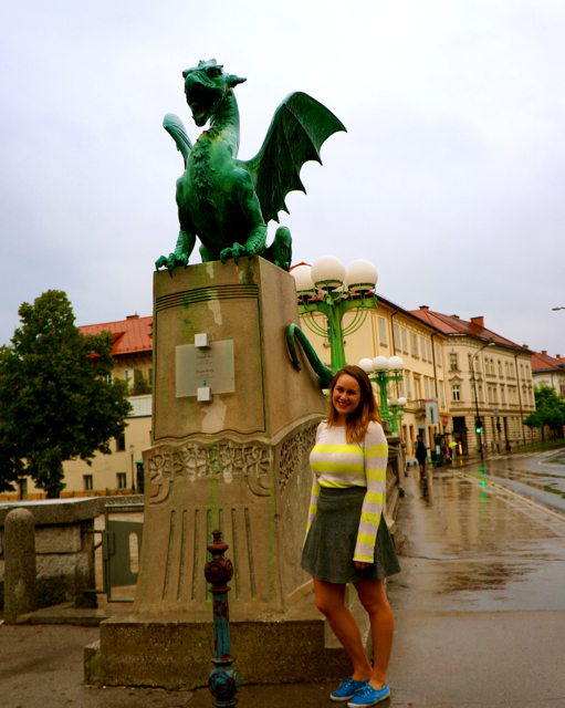 Travel blogger Lauren Salisbury of Something In Her Ramblings visits Ljubljana Slovenia for a walk through history.