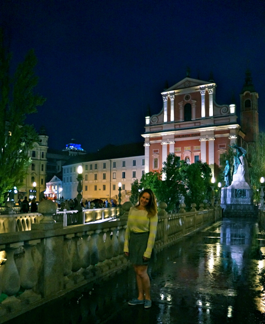 Travel blogger Lauren Salisbury visits ljubljana Slovenia for a walk through history.