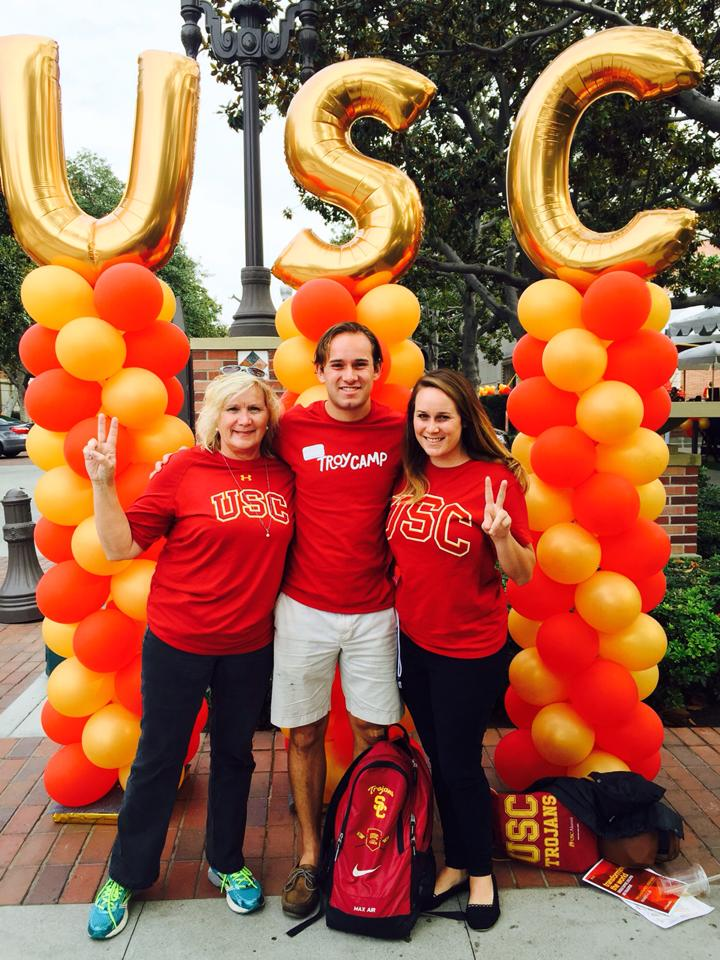 Trojan Family Weekend at USC