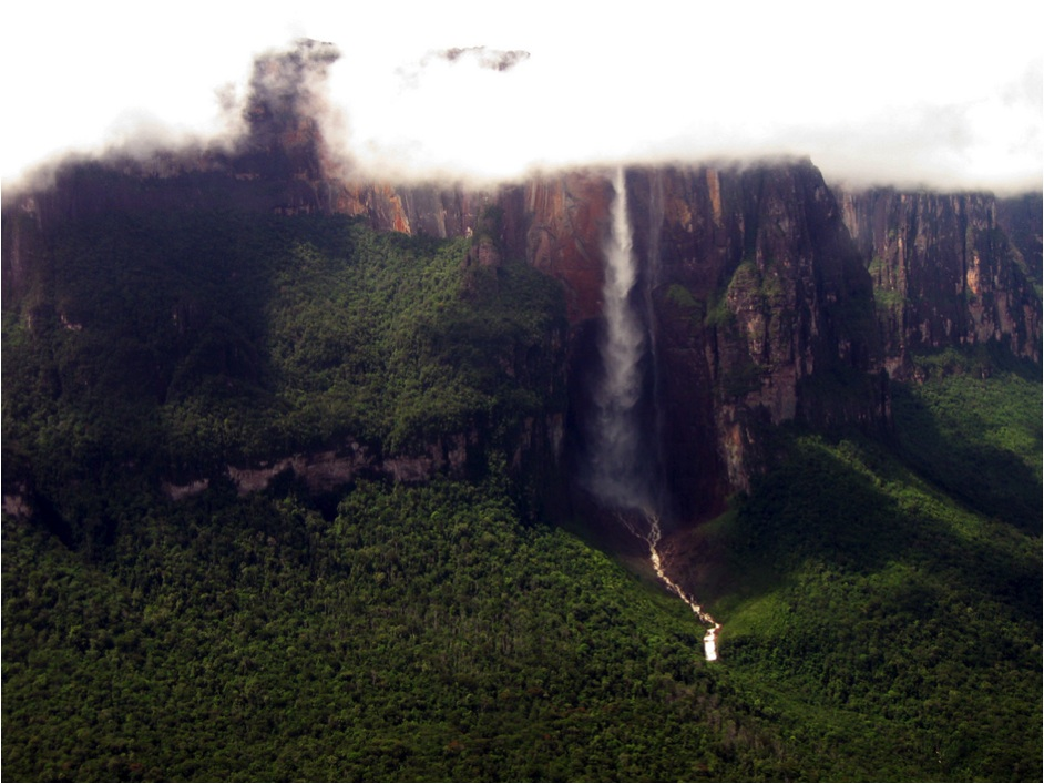 World's Most Amazing Waterfalls angel falls