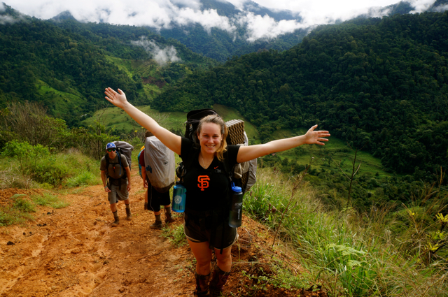 Travel blogger Lauren Salisbury goes hiking in Costa Rica. A Hike Through the Costa Rican Rainforest, Days 8 and 9