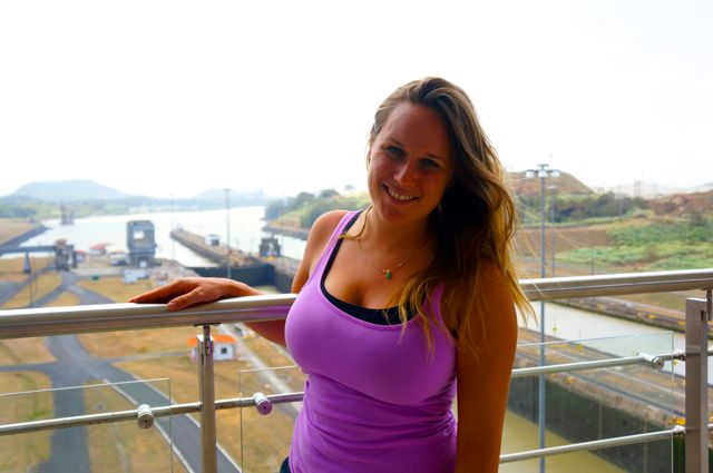 Travel blogger Lauren Salisbury visits the Panama Canal