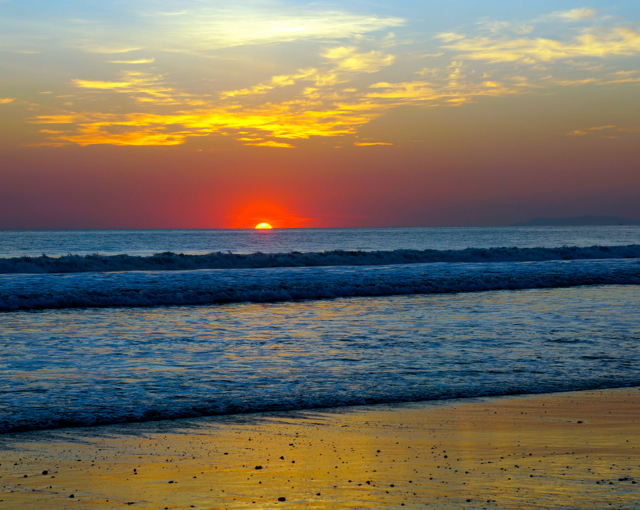 For beautiful sunset views in Costa Rica visit Playa Jaco
