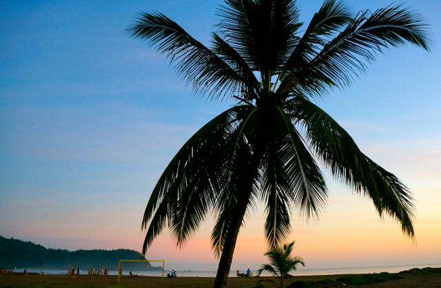 There's no better view in Jaco, Costa Rica than during sunset.