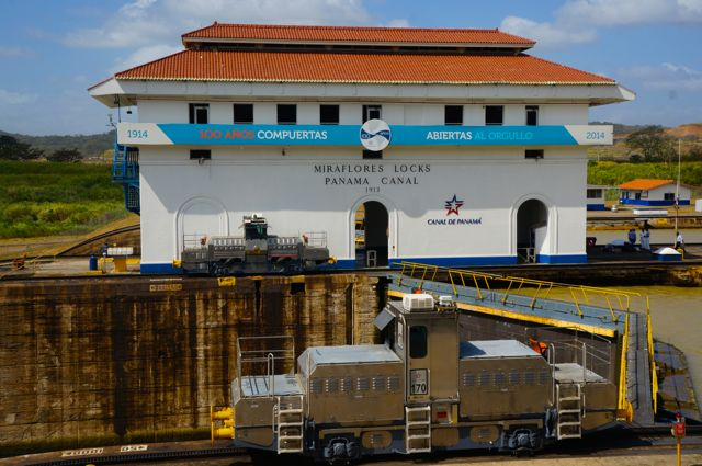 miraflores locks panama canal. Learn more with 10 fascinating facts about the Panama Canal.
