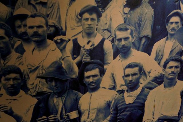 the faces of the men who built the Panama Canal. Learn more with 10 fascinating facts about the Panama Canal.