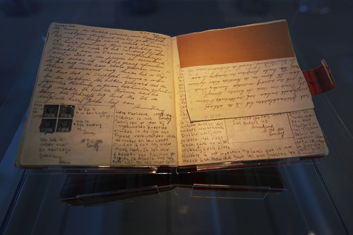 Things to do in Amsterdam include a visit to the Anne Frank House.