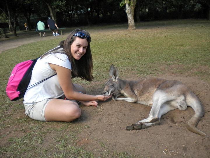 Lauren in Australia