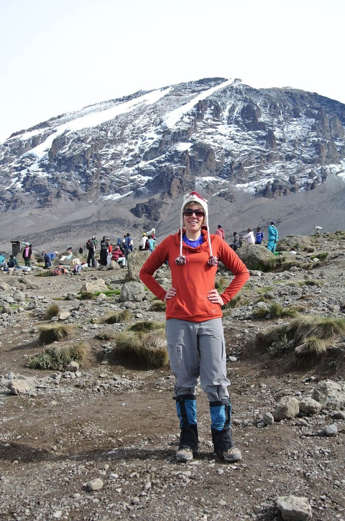 Mandy France travels solo in Kilimanjaro