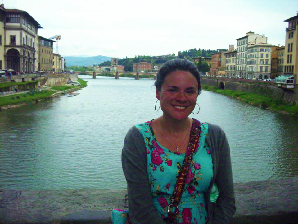 Michelle Philippon in Italy