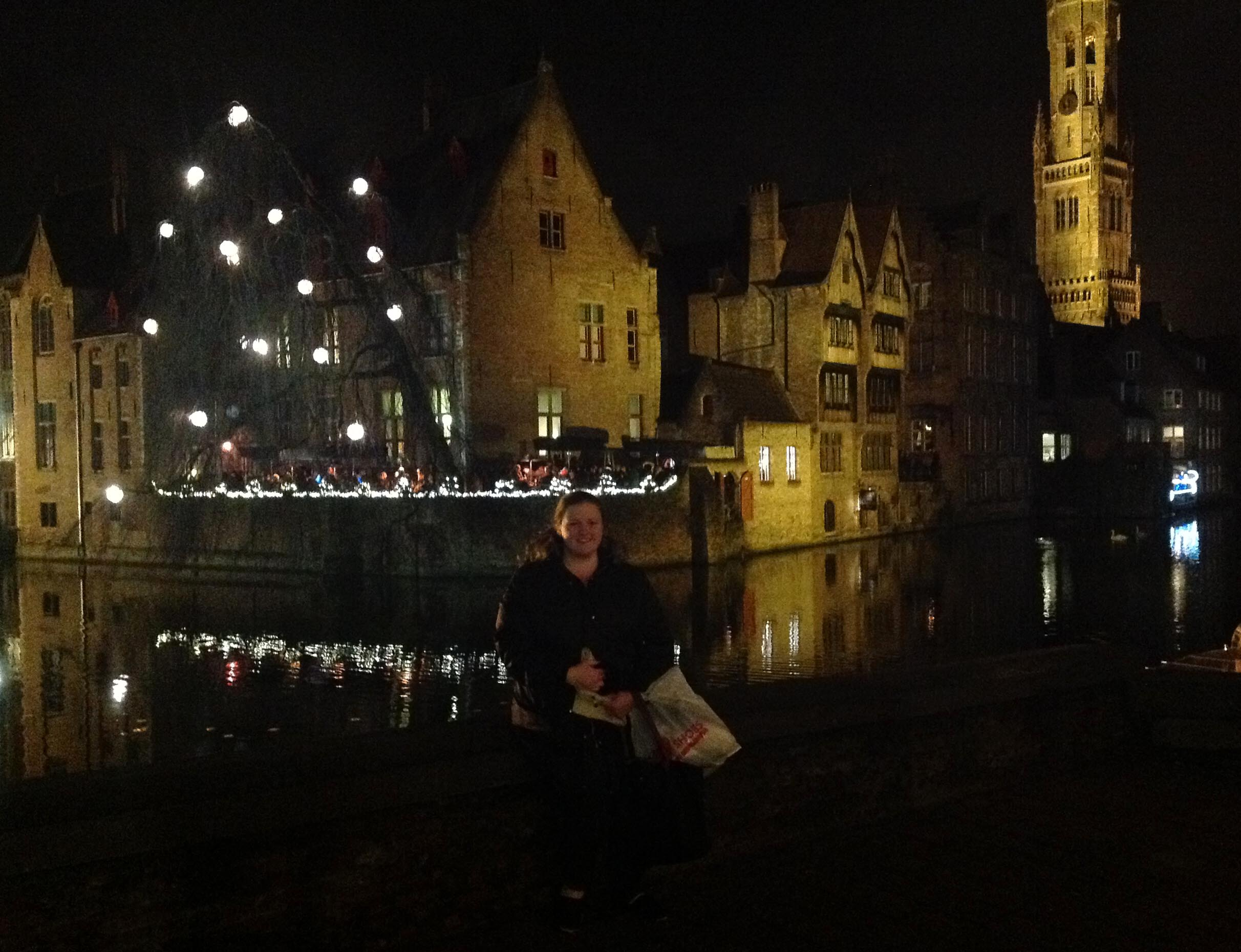 Solo Travel in Bruges Belgium