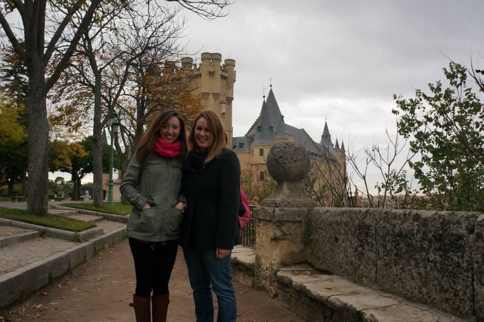lauren and emily travel to segovia
