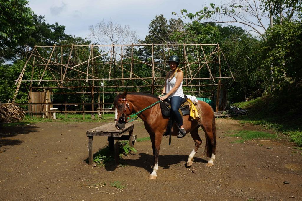 Discovery Horseback Tours Lauren Salisbury rides Shera
