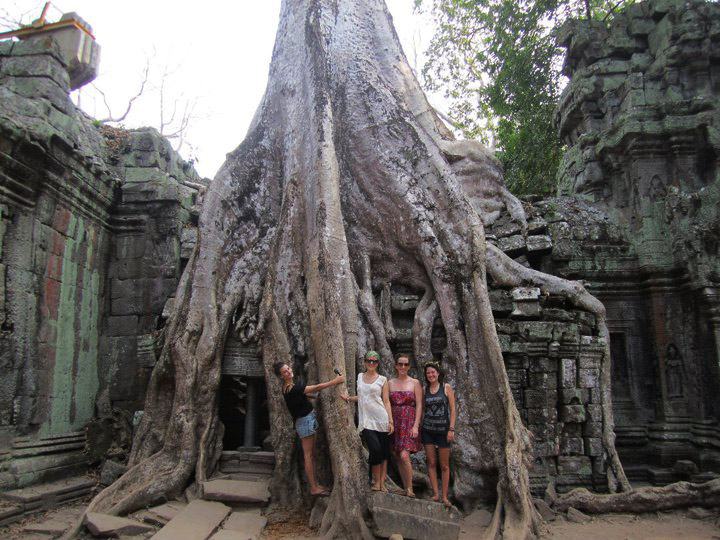 solo travel cambodia siem reap