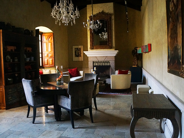 dining room where to stay in antigua guatemala hotel san rafael
