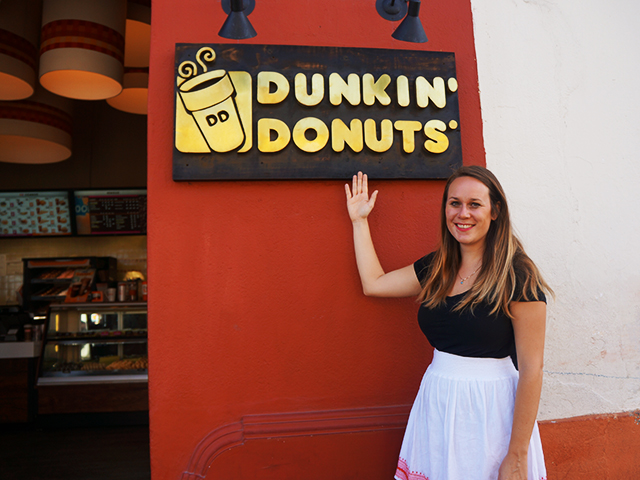 dunkin donuts photos of antigua guatemala