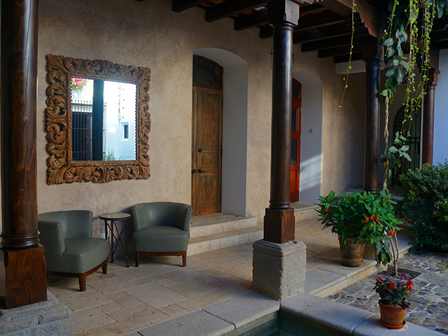 garden courtyard where to stay in antigua guatemala hotel san rafael